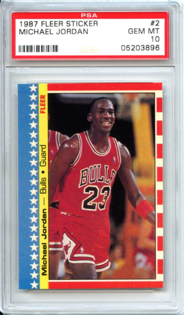 Buying Michael Jordan Fleer Cards Graded By Psa
