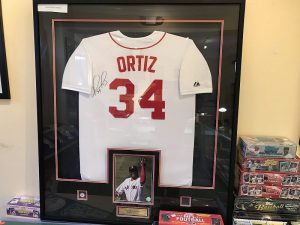 Destined to the Hall-of-Fame, this David Ortiz Jersey will be the centerpiece of any Red Sox fan.