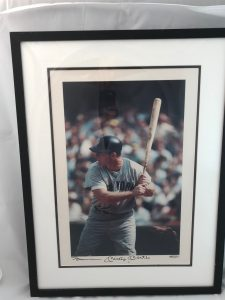 Mickey Mantle At the Plate.