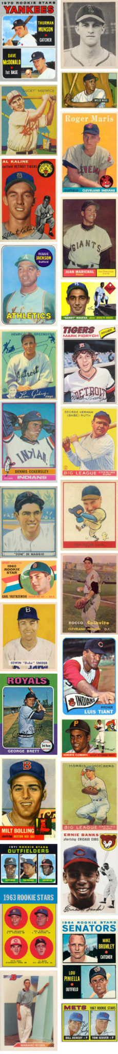 Buying Baseball Rookie Cards - Kenmore Collectibles
