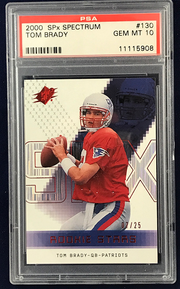 Kenmore Collectibles is urgently buying Tom Brady cards