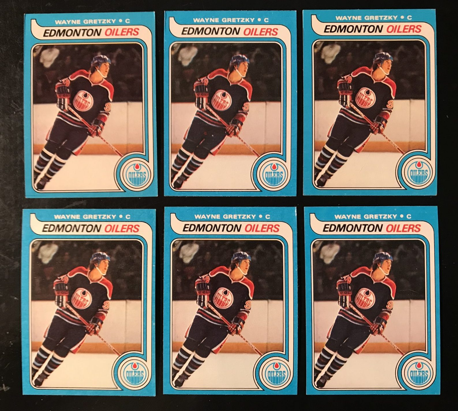 Todays Find Six Topps Wayne Gretzky Rookie Cards Kenmore