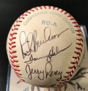 Kenmore Collectibles buys signed baseball