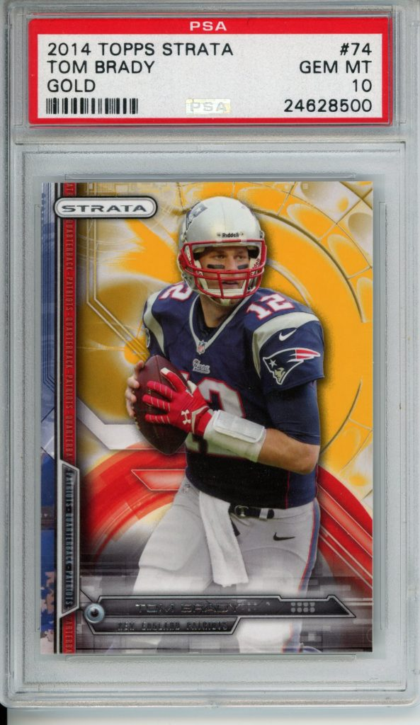 Kenmore Collectibles sells Tom Brady Cards