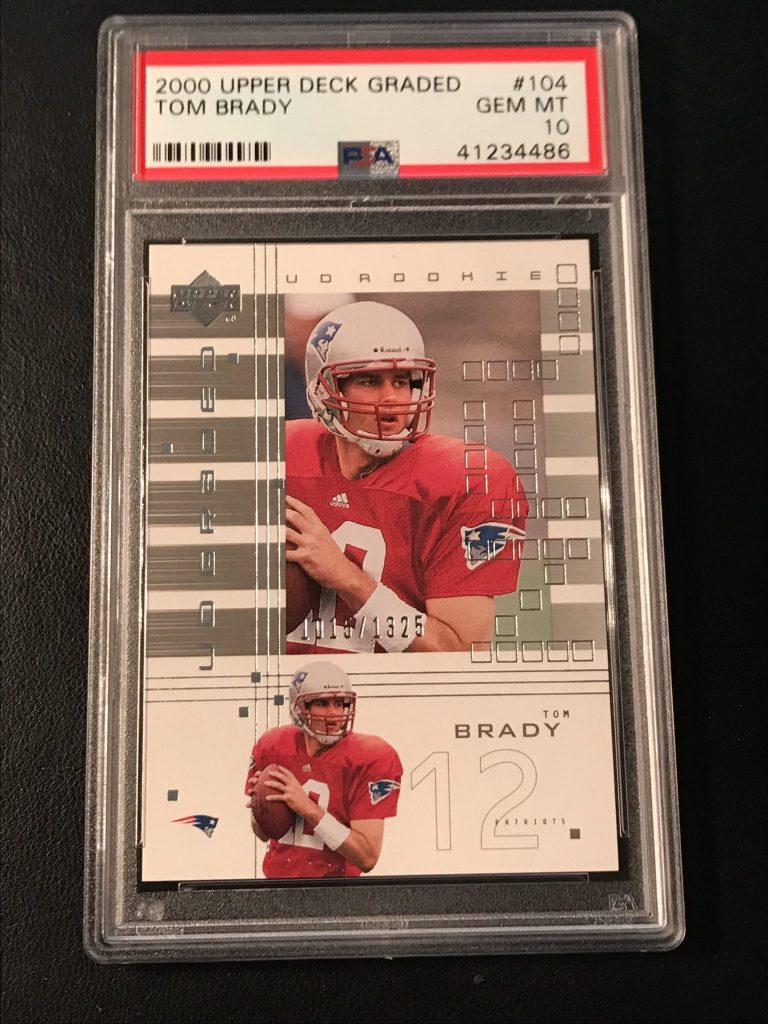 Todays Find More High End Tom Brady Rookie Cards Kenmore