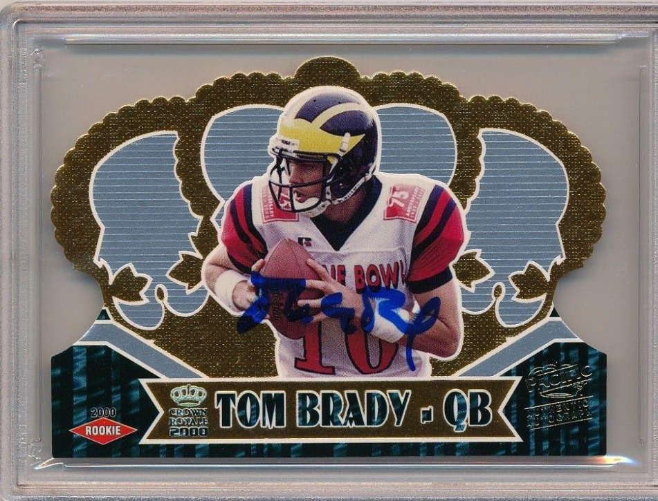 Kenmore Collectibles buys Tom Brady Rookie Cards