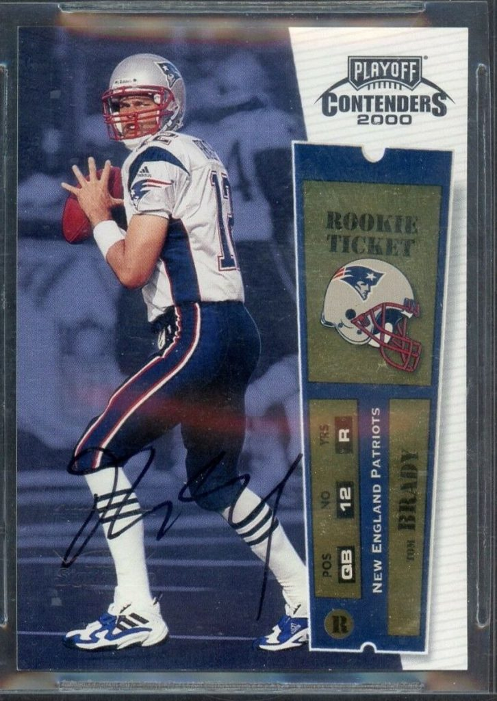Kenmore Collectibles buys all Tom Brady Rookie Cards