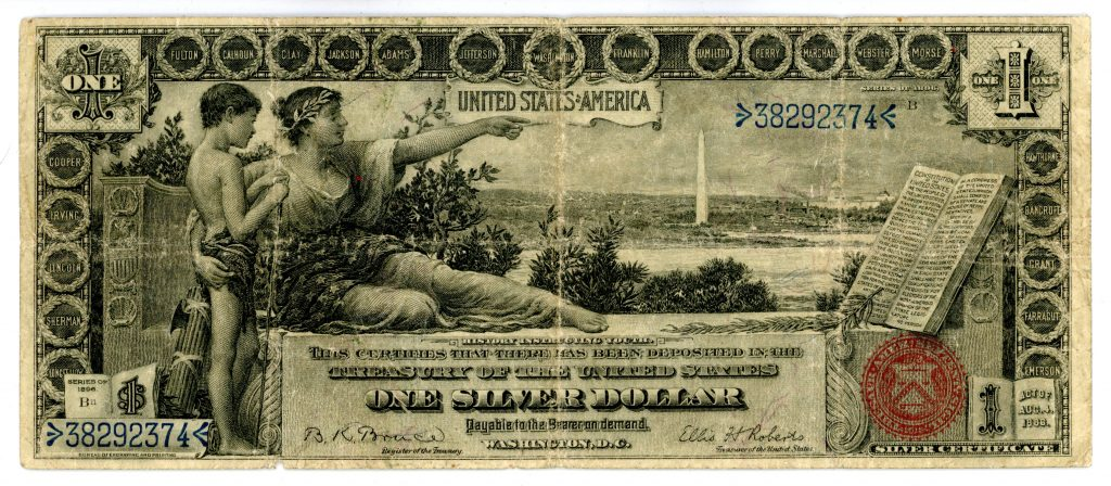 Kenmore Collectibles Buys U.S. Currency Note