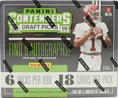 2019 Panini Contenders Draft Picks Football