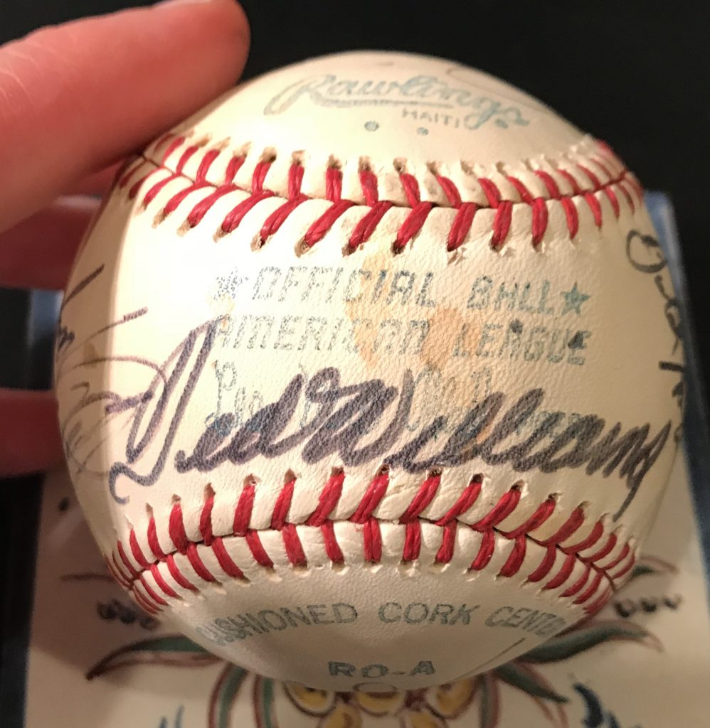 Kenmore Collectibles buys signed baseballs