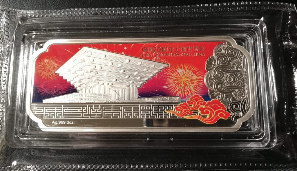 Kenmore Collectibles sells silver bars