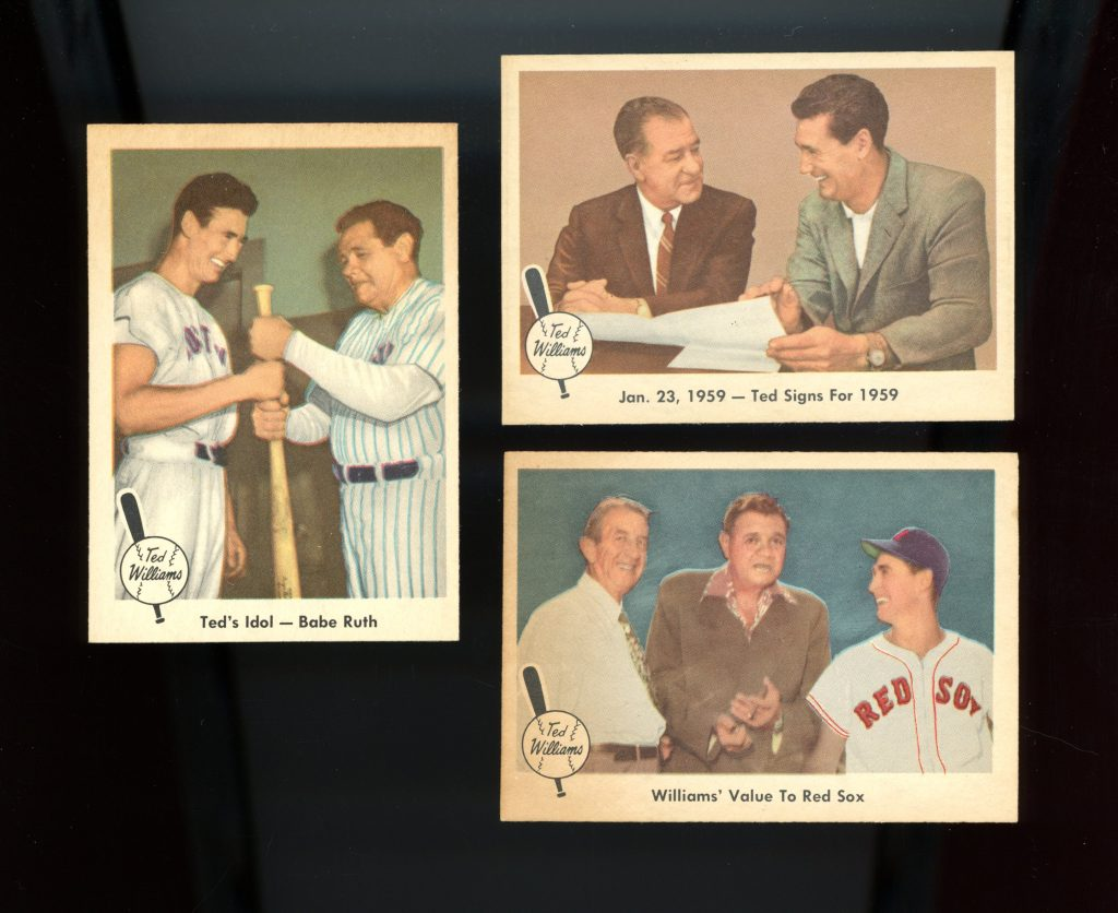 Kenmore Colletibles Buys Ted Williams Cards